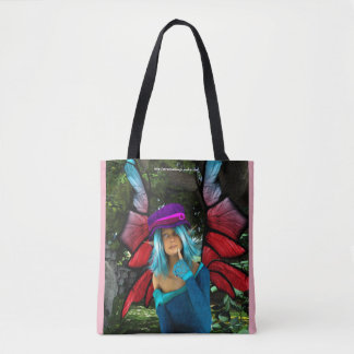 Fairy in Thought Tote Bag