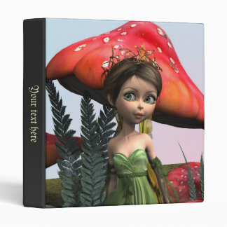 Fairy in Woodland 3 Ring Binder