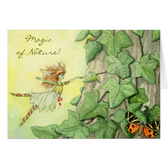 Fairy Ivy note card