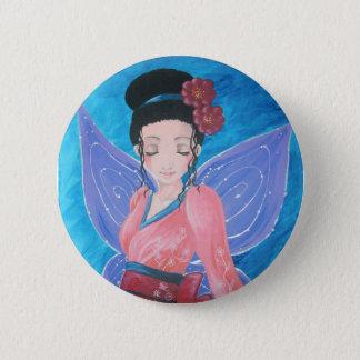 - Fairy kimono swipes in 2 Inch Round Button