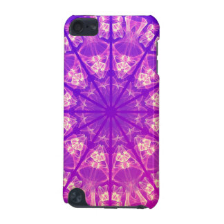 Fairy Lace Mandala Delicate Abstract Cream Violet iPod Touch (5th Generation) Covers