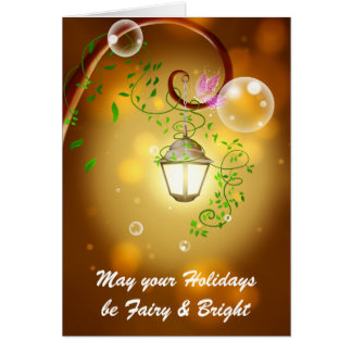 Fairy Lantern Card
