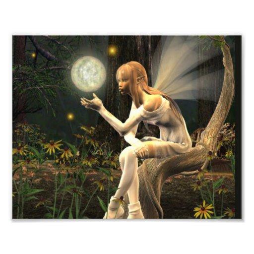 Fairy light ball 10x8 print art photo