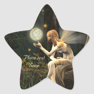 Fairy light ball fairy star stickers