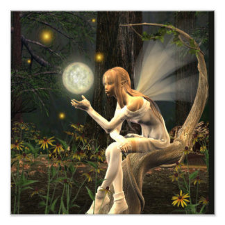 Fairy Light ball print Photo Print