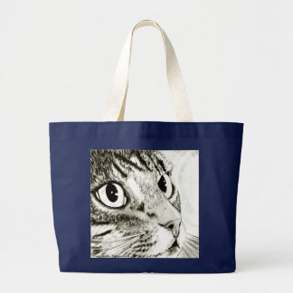 Fairy Light Tabby Cat Fantasy Art Bag