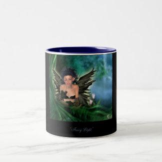 fairy light Two-Tone coffee mug
