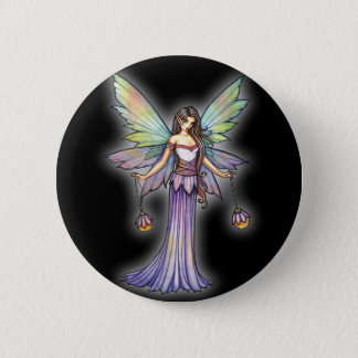 Fairy Lights by Molly Harrison 2 Inch Round Button
