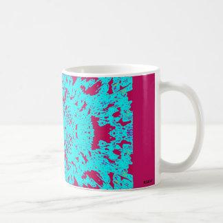 FAIRY-LIKE MUGUE HYDRANGEA BLEU/ROSE COFFEE MUG