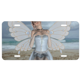Fairy License Plate