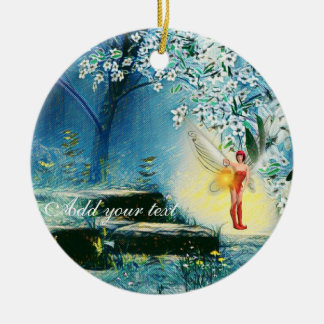 Fairy lit ornament