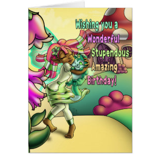 "Fairy Loving Standard (5""x7"") Birthday Card"
