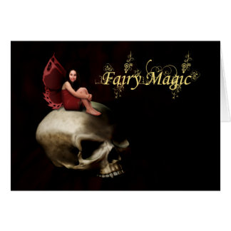 Fairy Magic Halloween Fairy Greeting Card