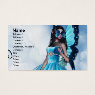 Fairy Masquerade Ball Business Card
