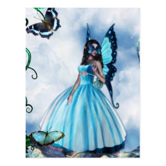 Fairy Masquerade Ball Postcard