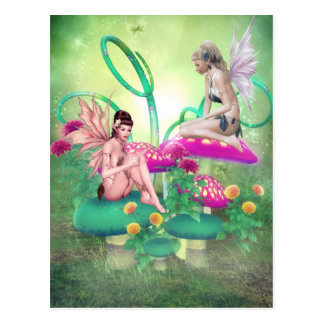 Fairy Meeting Postcard