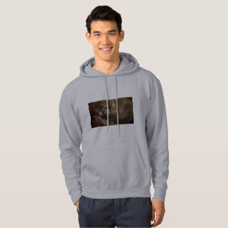 Fairy Mens Hoodies-Gorilla with Fairy Hoodies