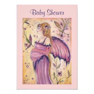 Fairy mom Baby shower invitations By Renee