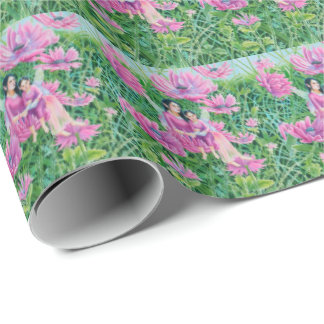 Fairy Mum and Child Wrapping Paper