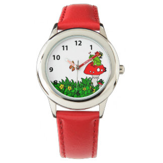 Fairy Mushrooms and Frog Watch