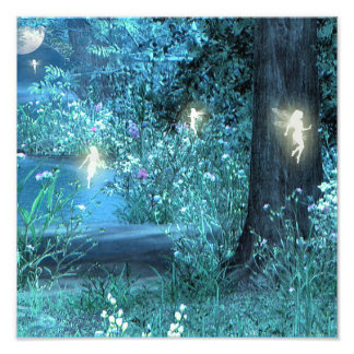 Fairy night print