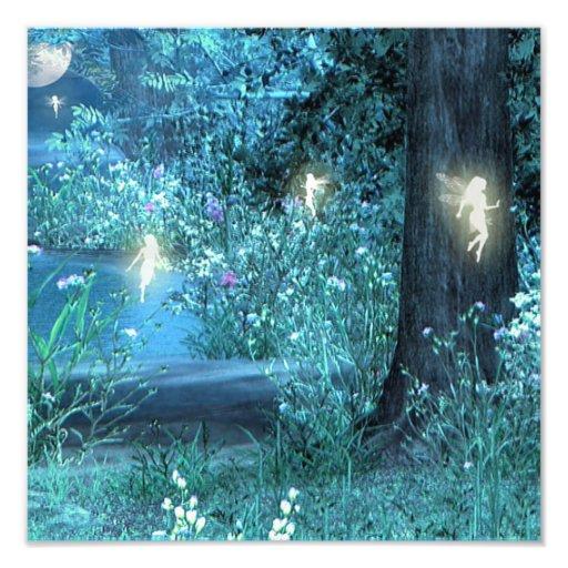 Fairy night print photo art