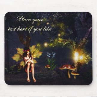Fairy nightlights mouse pad