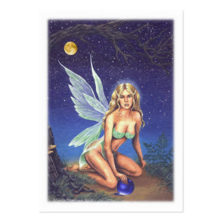Fairy Nocturne Business Card Templates