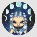 """""""Fairy of the Changing Moons"""" Sticker"""