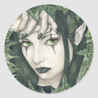 Fairy of the Dark Forest Sticker