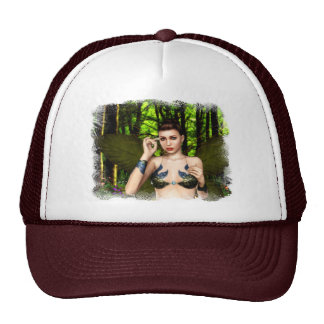 Fairy of the Forest Glade Cap Trucker Hat