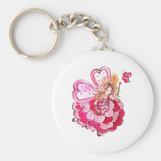 Fairy of the heart Colineandco butterfly Keychain
