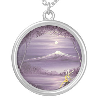 Fairy of the Mountain Silver Plated Necklace