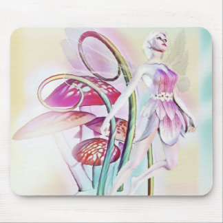 Fairy of the wood mouse pad