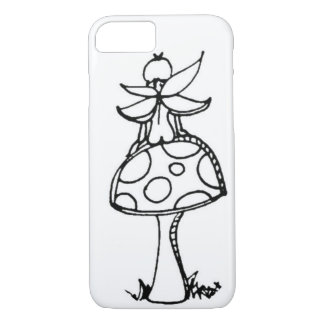 Fairy on a mushroom iPhone 7 Case