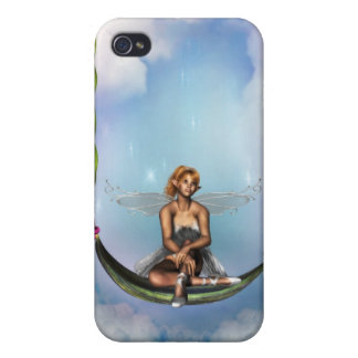 Fairy on a Swing iPhone 4 Case