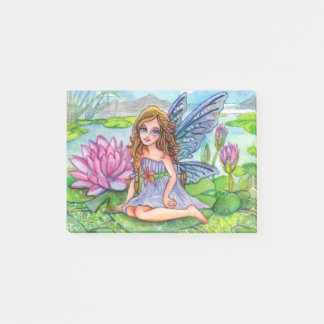 Fairy On Lily Pad Post-it Notes