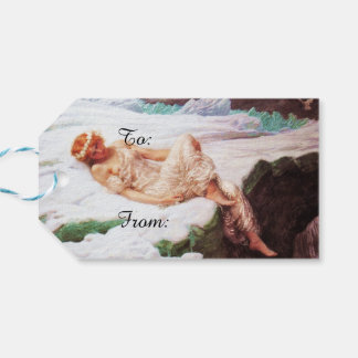 Fairy on Snowy Mountain or Heart of Snow Pack Of Gift Tags