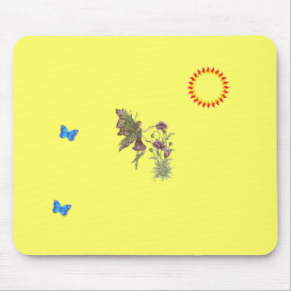 Fairy Painting Mouse Pad