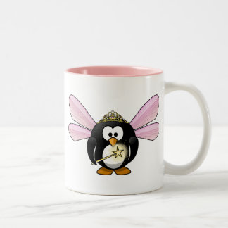 Fairy Penguin Two-Tone Coffee Mug