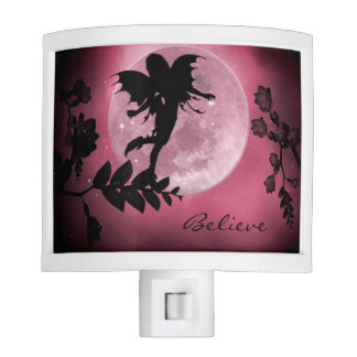 Fairy pink moon glow nightlight night lites