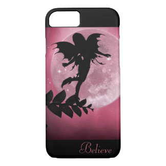 Fairy pink moon glow phone cases