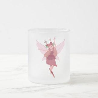 Fairy Pixy Frosted Coffee Tea Mug 10 oz