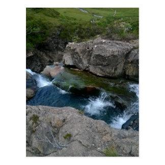 Fairy Pools, Isle of Skye, Scotland Postcard