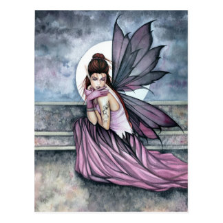 Fairy Postcard 'Hiding' by Molly Harrison