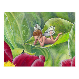 "Fairy Postcard ""Little Boy Fairy"""