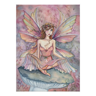 Fairy Poster Print by Molly Harrison