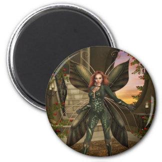 Fairy Power 2 Inch Round Magnet