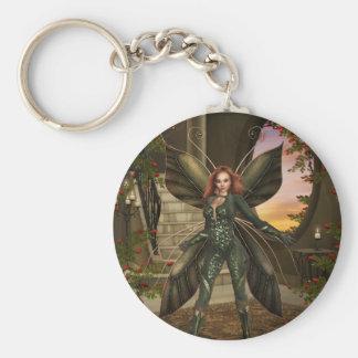 Fairy Power Basic Round Button Keychain