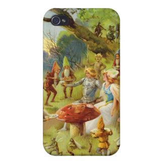 Fairy Prince and Thumbelina in the Magic Forest iPhone 4 Case
